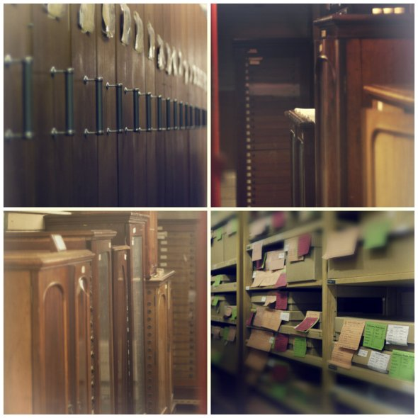 Cases and cabinets and drawers...